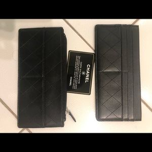 Chanel credit card holders